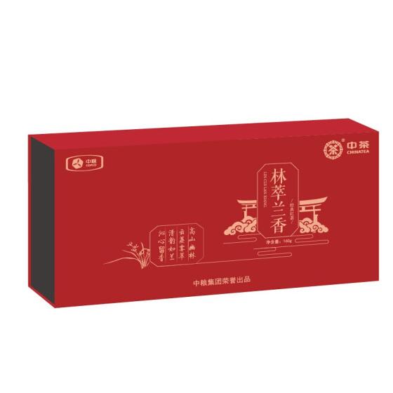 中粮林萃兰香经典红茶礼盒160g