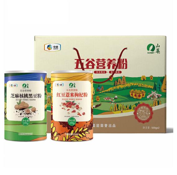 中粮山萃营养粉礼盒家庭装1000g
