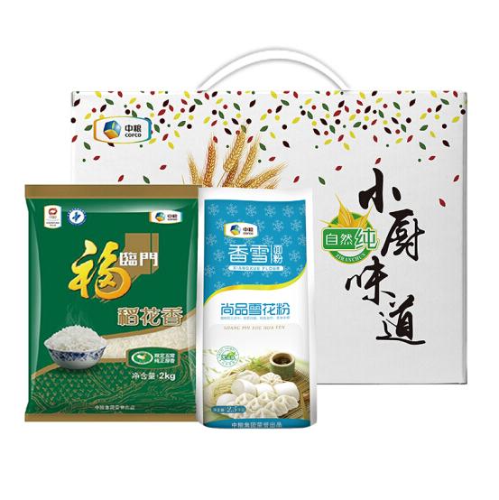 中粮小厨味道米面礼盒4.5kg