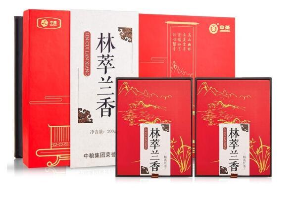中粮林萃兰香精选红茶礼盒200g