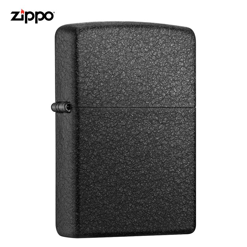 ZIPPO-黑裂漆打火机