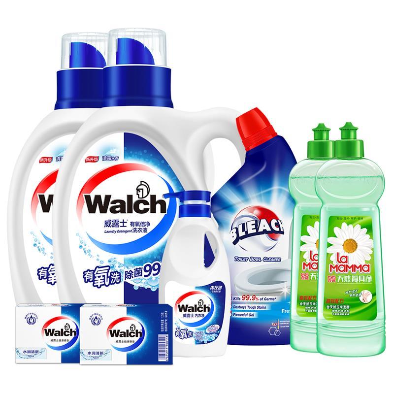威露士-洗护清洁套装
